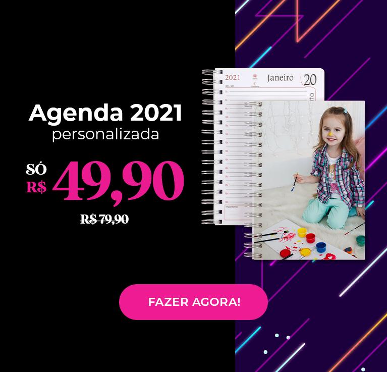 Agendas 2021 com 30% OFF