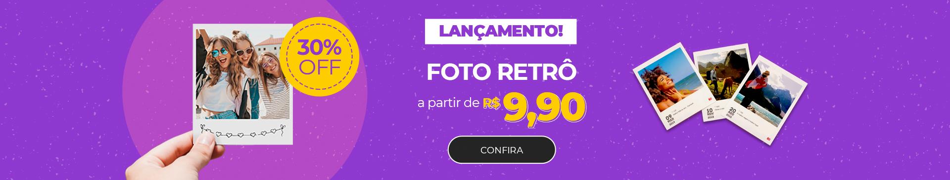 LANÇAMENTO | Foto Retrô