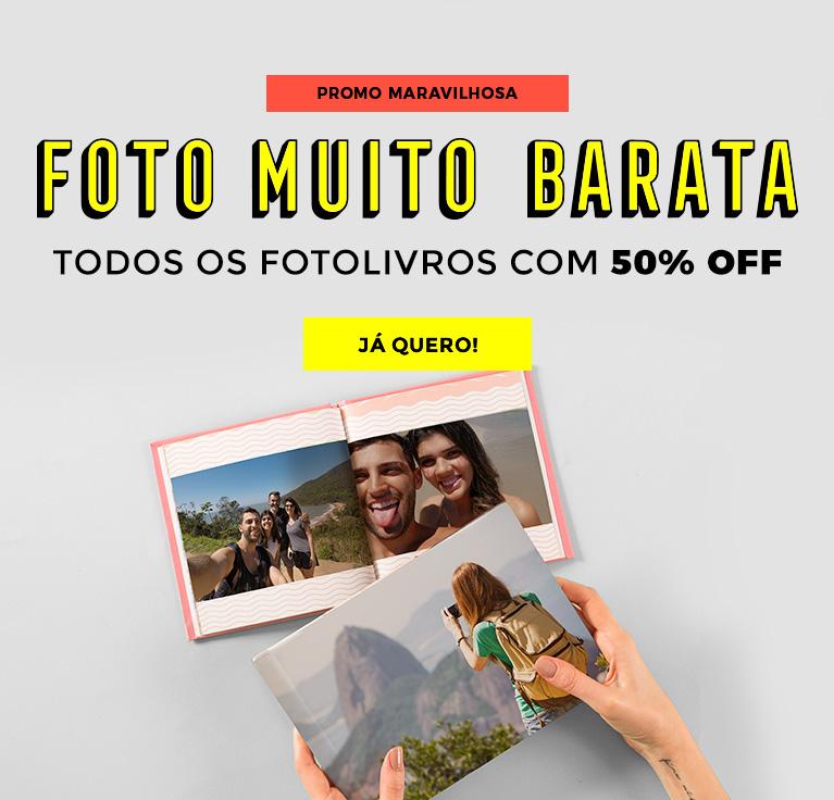 Fotolivro Muito Barato: Todos os modelos com 50% OFF!