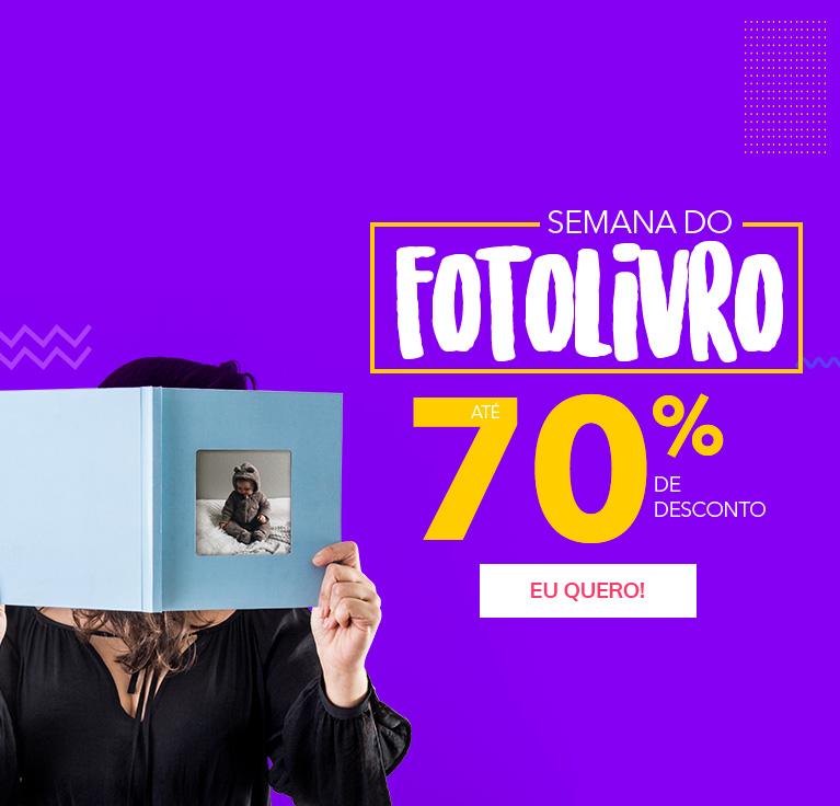 Semana do Fotolivro - Até 70% OFF